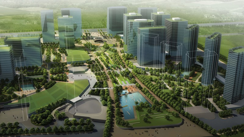 佛山智慧新城景观