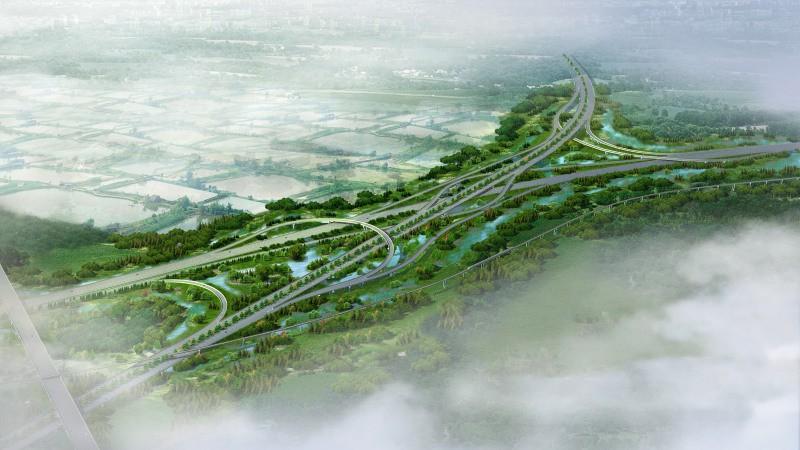 顺德高速路绿化景观提升