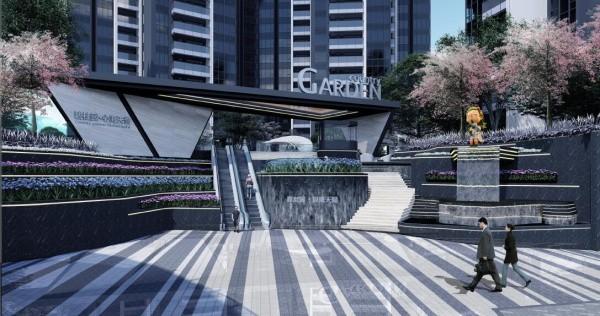 碧桂园心海天誉项目景观设计