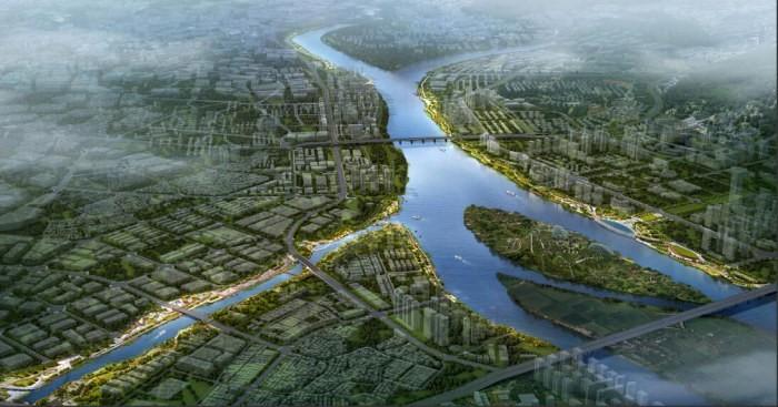 德胜河一河两岸景观工程