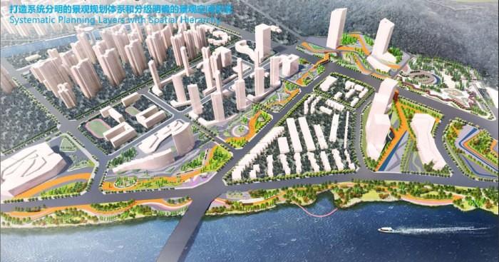 珠海斗门尖锋南片区景观规划