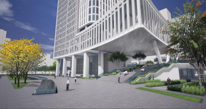 长城开发彩田工业区城市景观设计